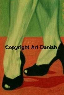 The Shoes, artist Amir Wahib in Gallery Art Danish