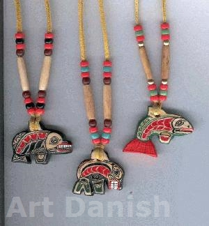 Pendants Necklas Native kunst smykker