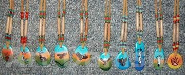 Pendants Necklas Native