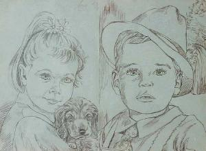 Drawing 2 children PRIVATEJE