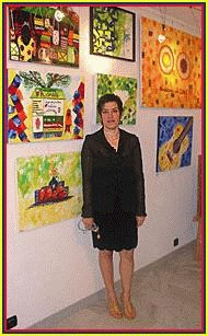 859 Virginia Hernandez , Colombian Artist,  paintings